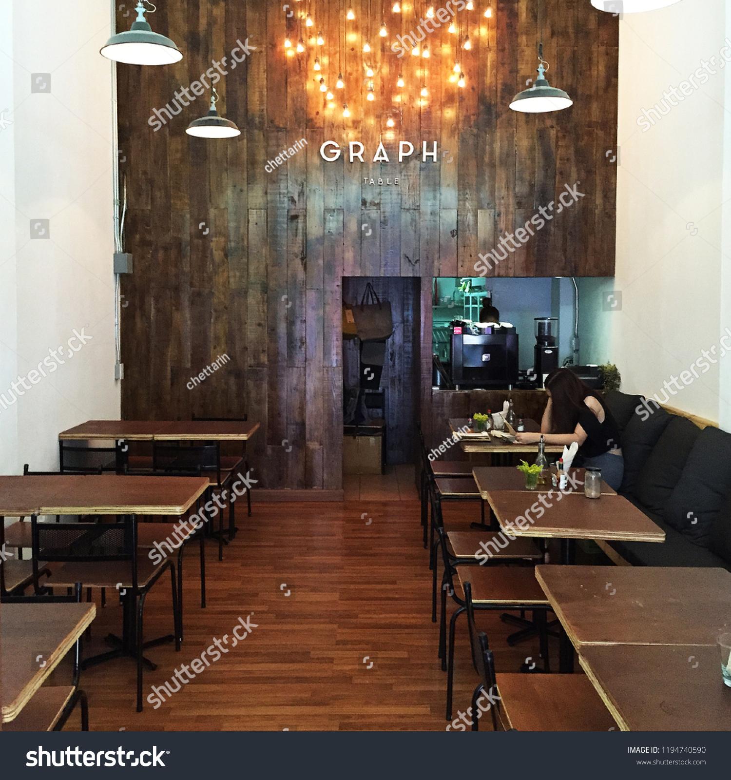CHIANG MAITHAILANDAUGUST 82015 Interior Design Decoration GRAPH ...
