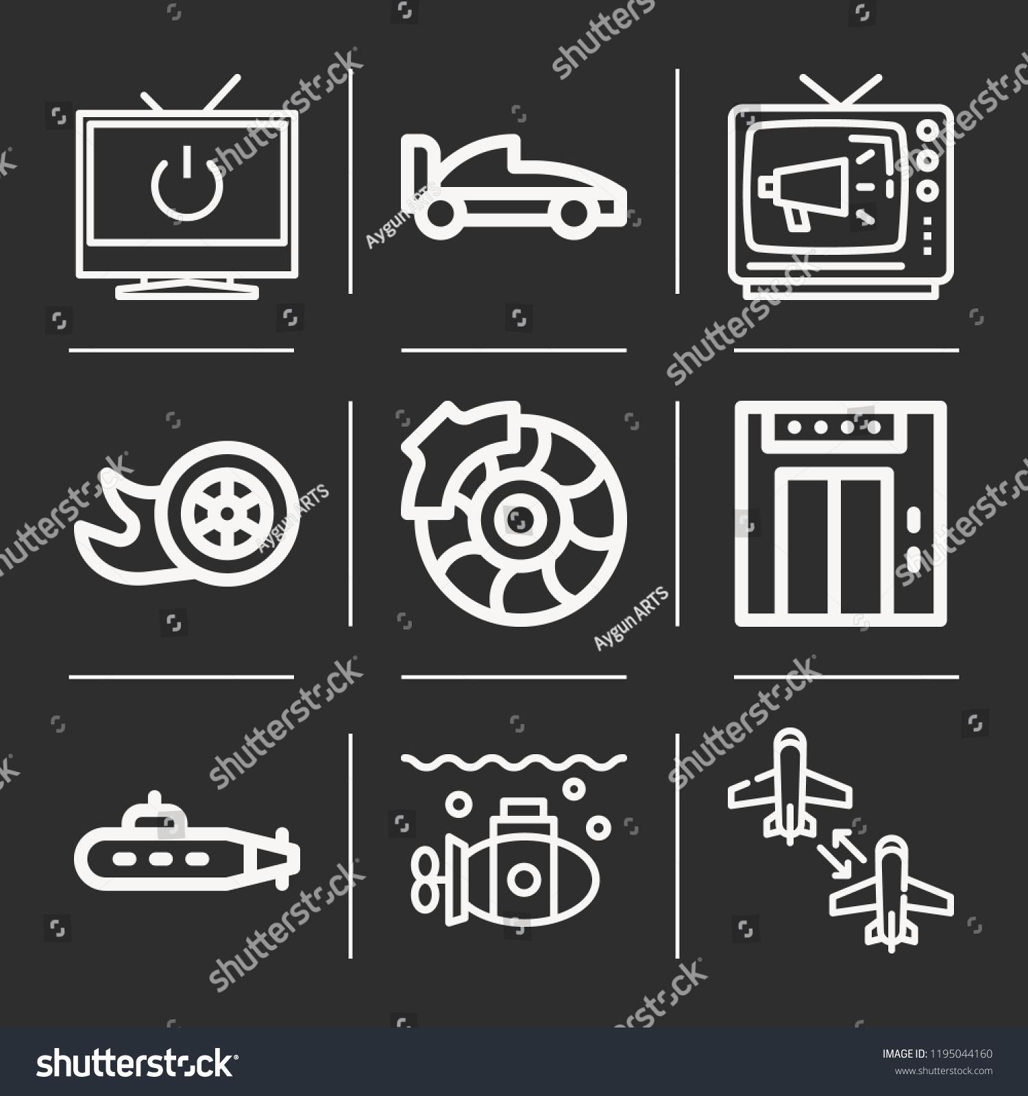 Aircraft Televisions Submarine Television Drift Formula