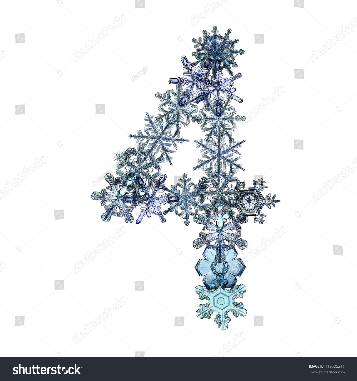 Ice Crystals  Letters