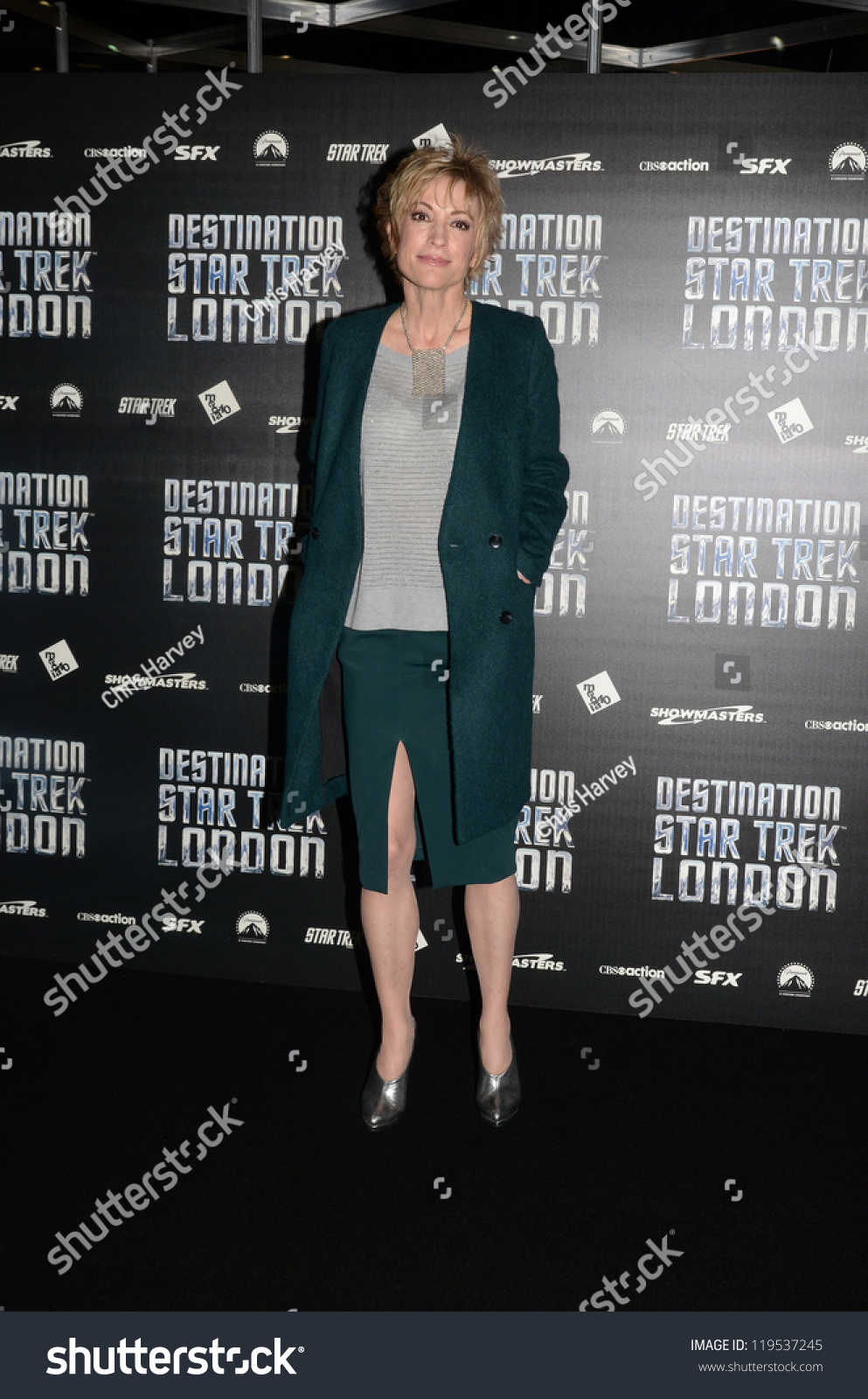 Aryana Starr Pictures Simple london october 19 actor nana visitor stock photo 119537245