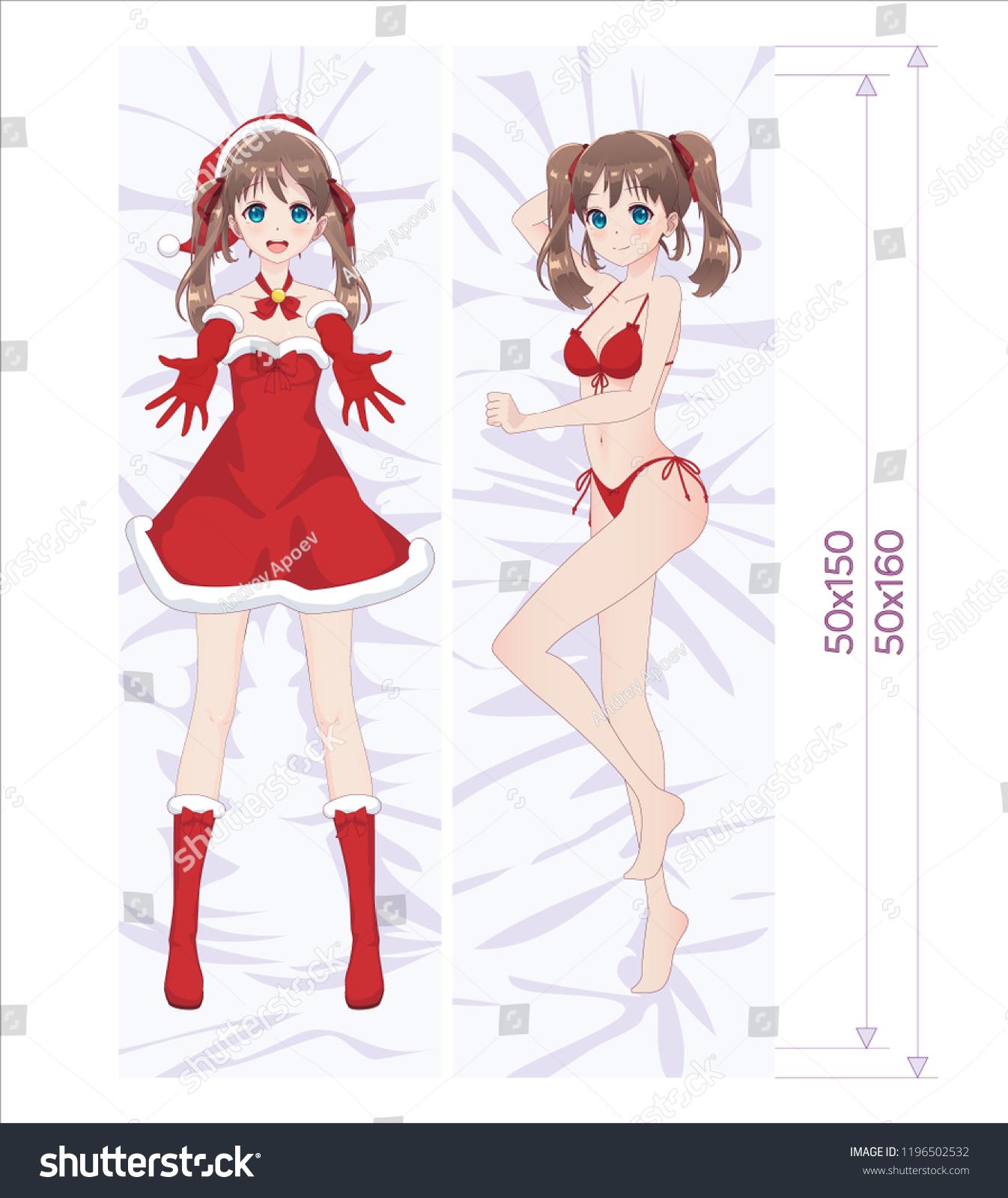 Anime Girl Hugging Her Knees Www Topsimages Com