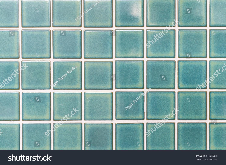 Local Style Thai Green Ceramic Tiles Stock Photo (Royalty Free ...
