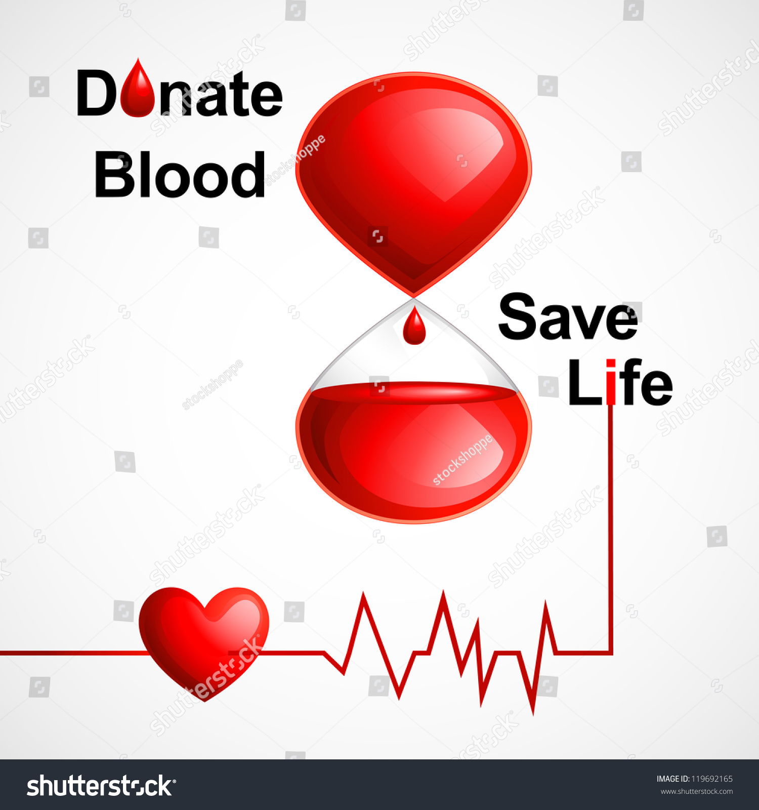 Vector illustration blood donation concept heart stock vector vector illustration of blood donation concept with heart buycottarizona