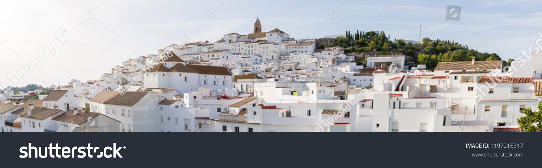 Overview of Alcalá de los gazules, municipality of the province of Cádiz, Spain