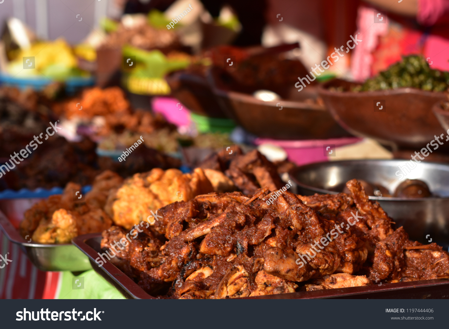 Indonesian Street Food Malang City Food And Drink Stock Image 1197444406