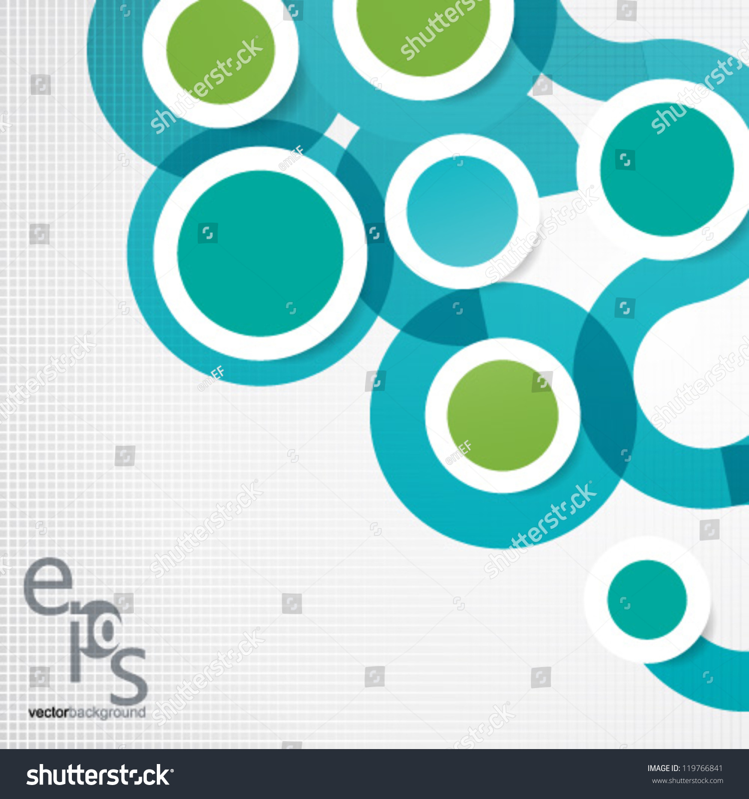 Vector Design Eps10 Simple Colorful Circles Stock Vector 119766841 ...