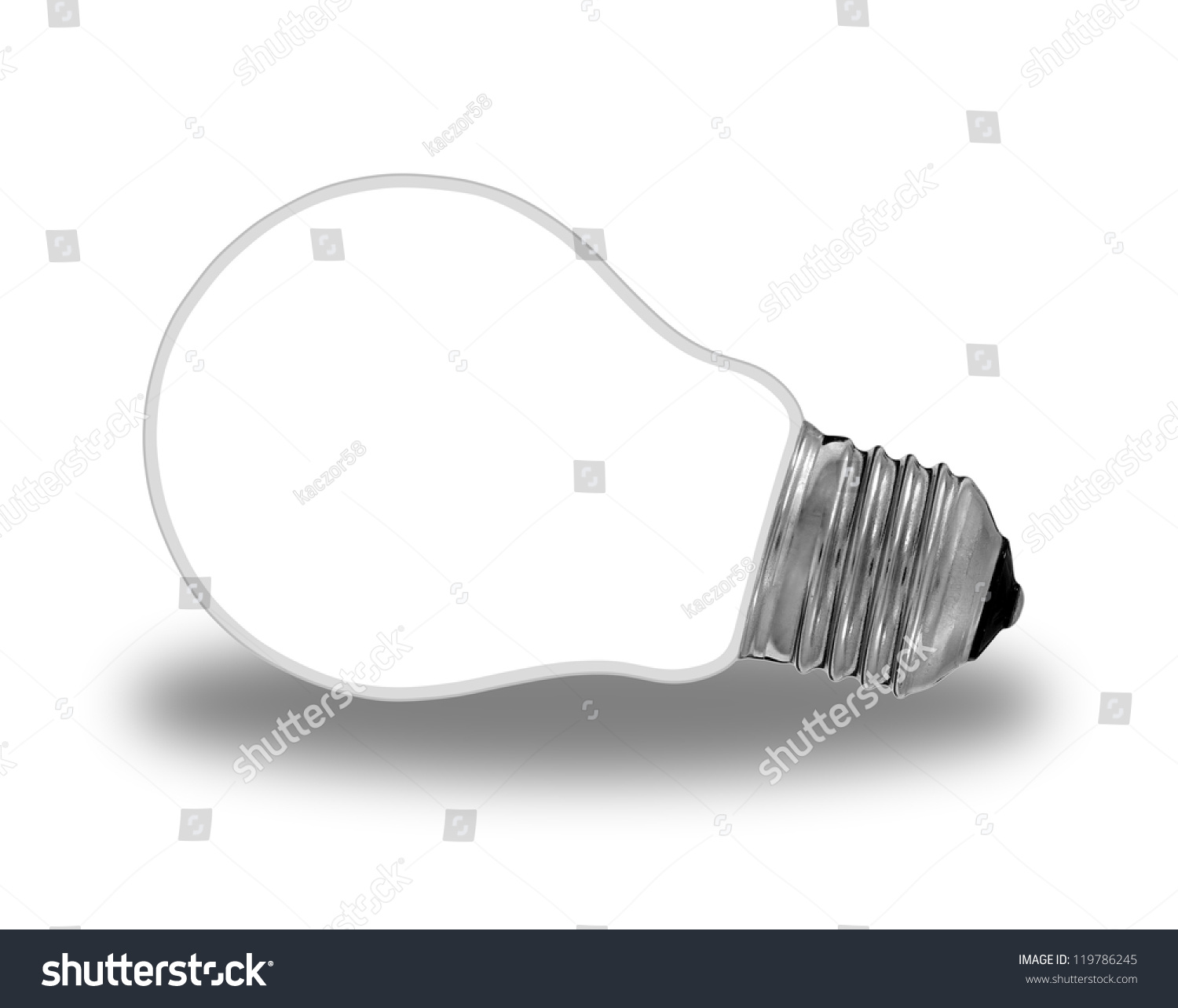 Traditional Light Bulb And Renewable Energy Stock Photo 119786245 Shutterstock