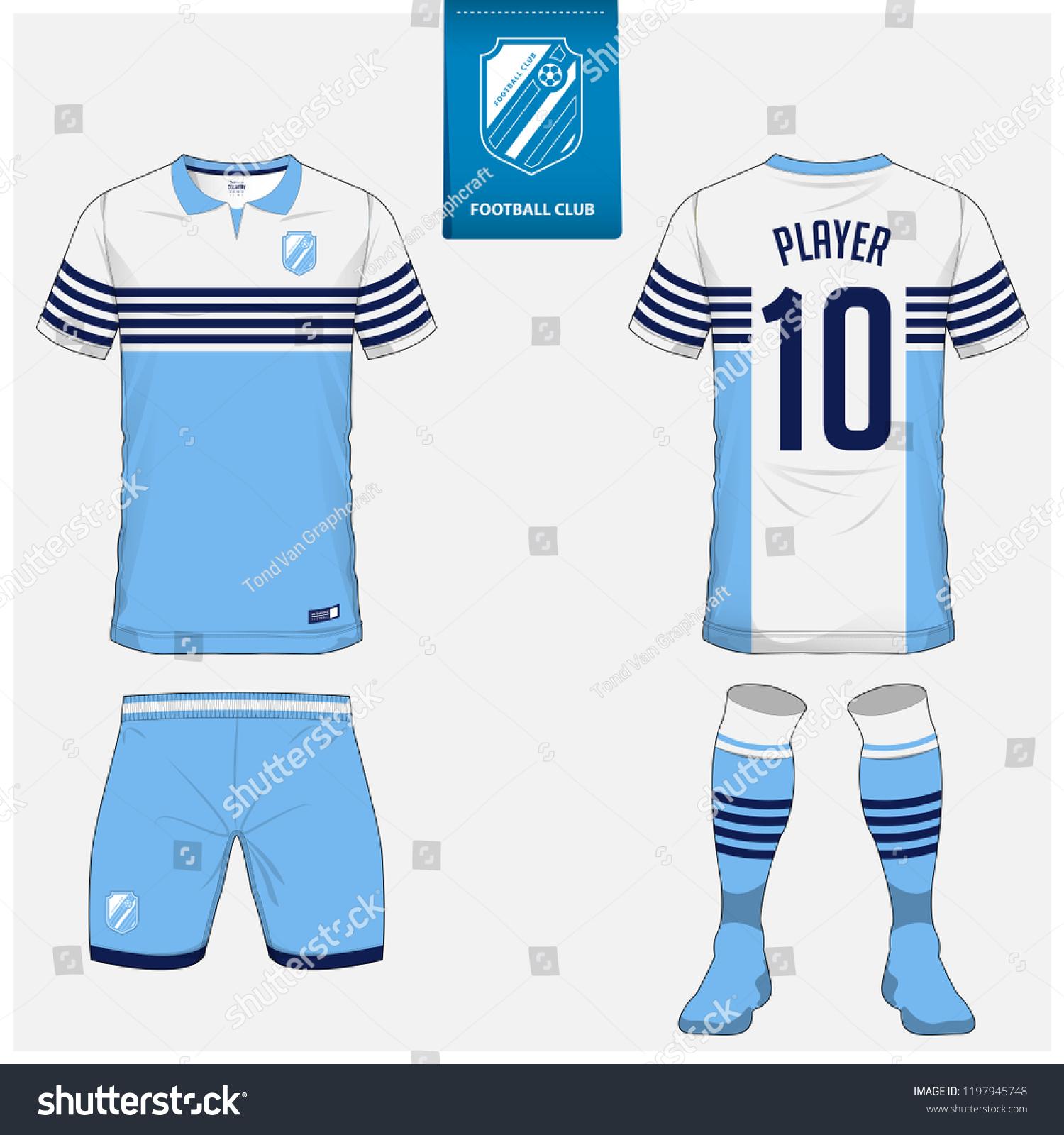 soccer jersey football kit shorts sock stock vector royalty free