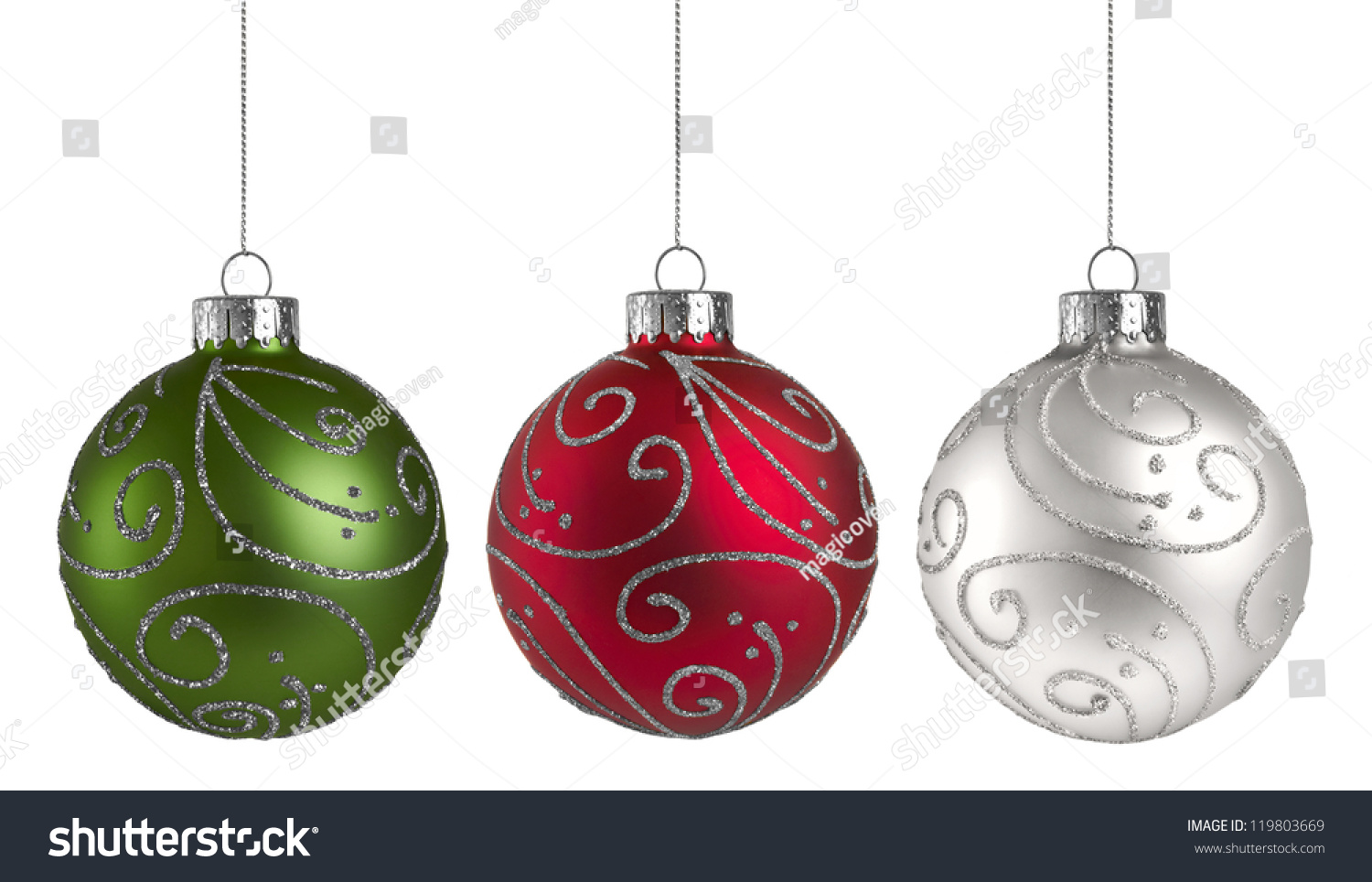 Christmas Ornaments Stock Photo (Edit Now) 119803669 - Shutterstock