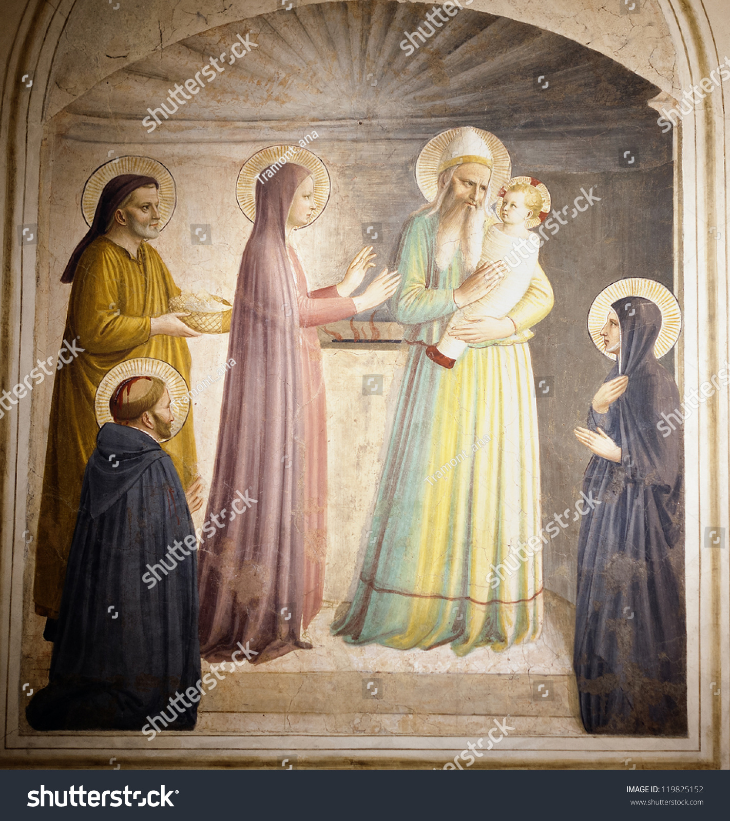 Italian Florence: The Presentation Of Jesus At The Temple,St. Marcus
