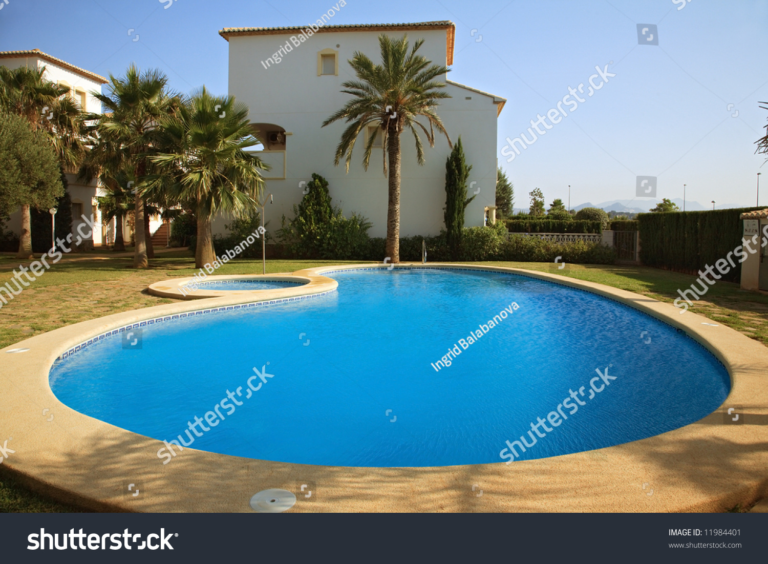 Spanish villas with swimming pool stock photo 11984401 shutterstock for How to say swimming pool in spanish