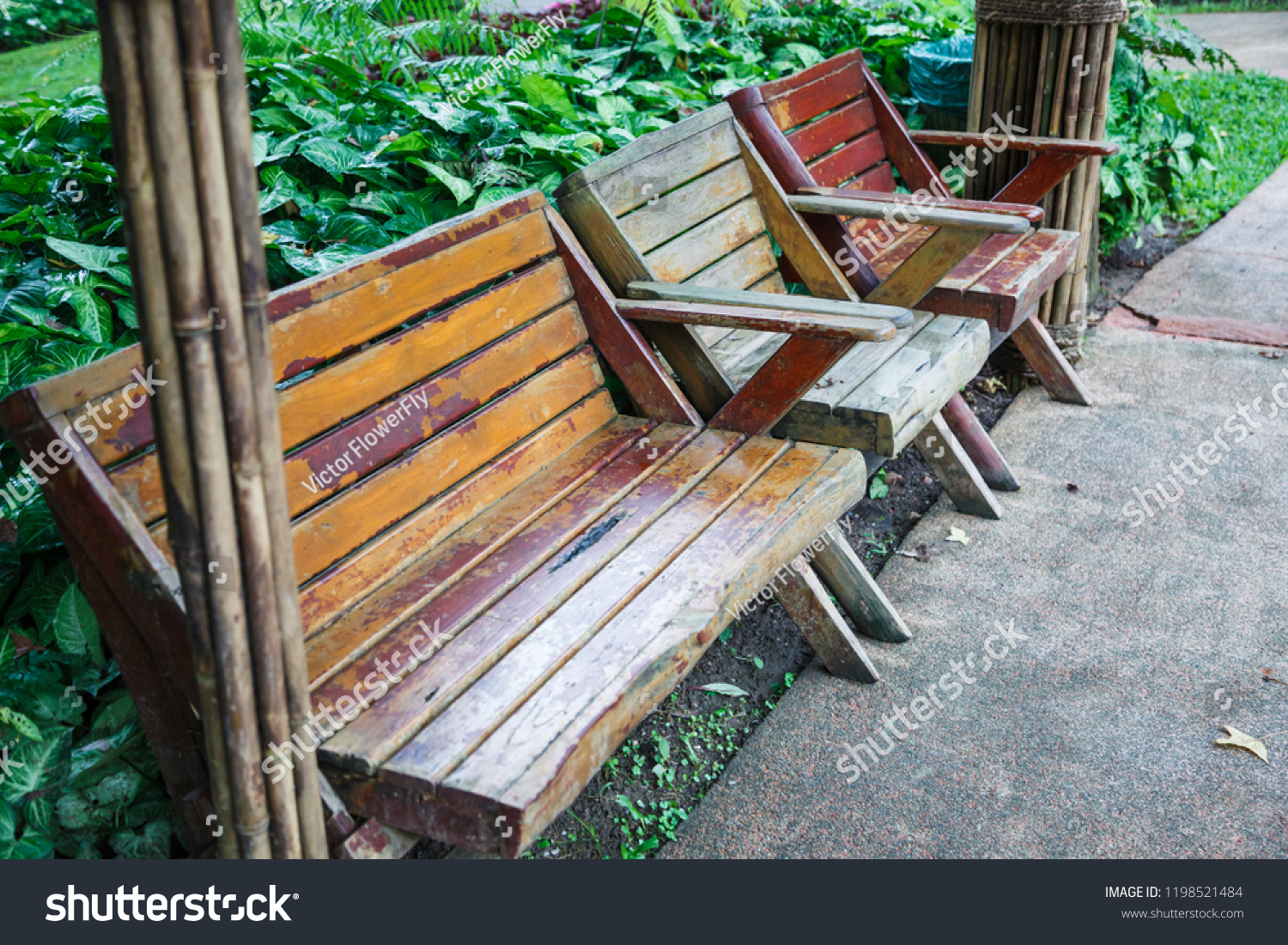 Admirable Architectural Landscaped Design Wooden Bench Chairs Stock Forskolin Free Trial Chair Design Images Forskolin Free Trialorg