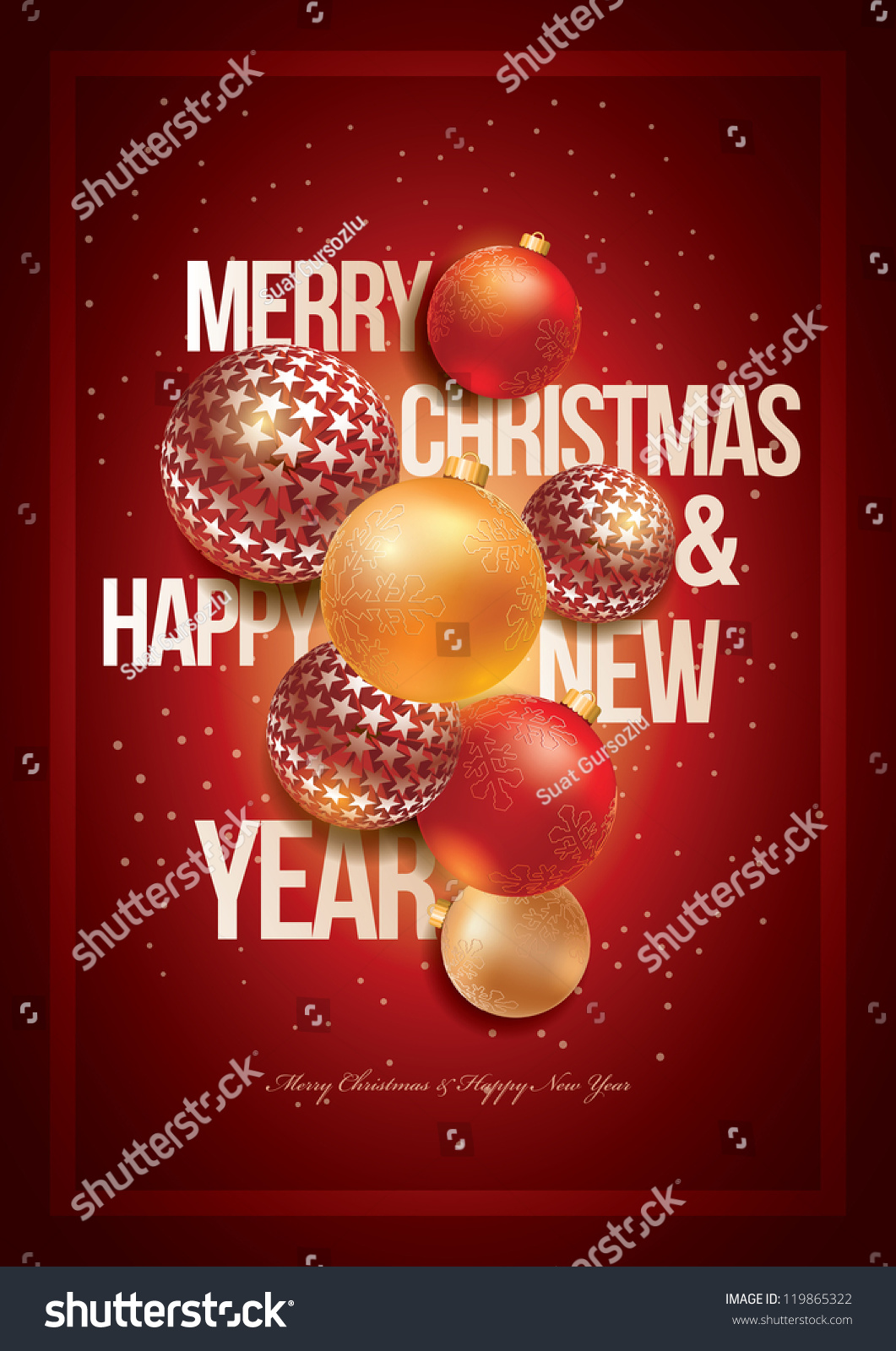 vector christmas and new year design template for christmas party for christmas party poster greeting card or preview save to a lightbox