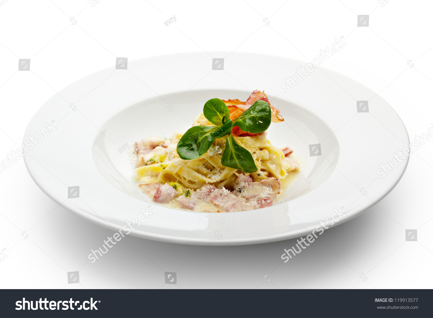 Tagliatelle With Basil And Egg Yolk Recipe — Dishmaps