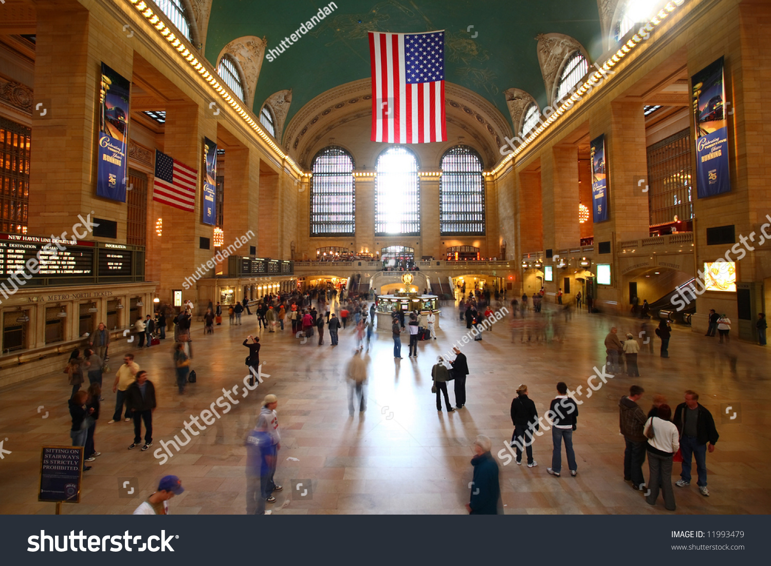 Grand central station new york city stock photo 11993479 for Grand tableau new york