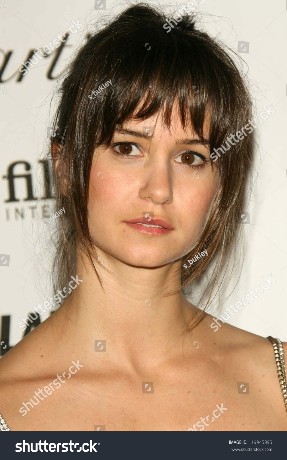Katherine Waterston Glamour Reel Moments Short Stock Photo Edit Now 119945395