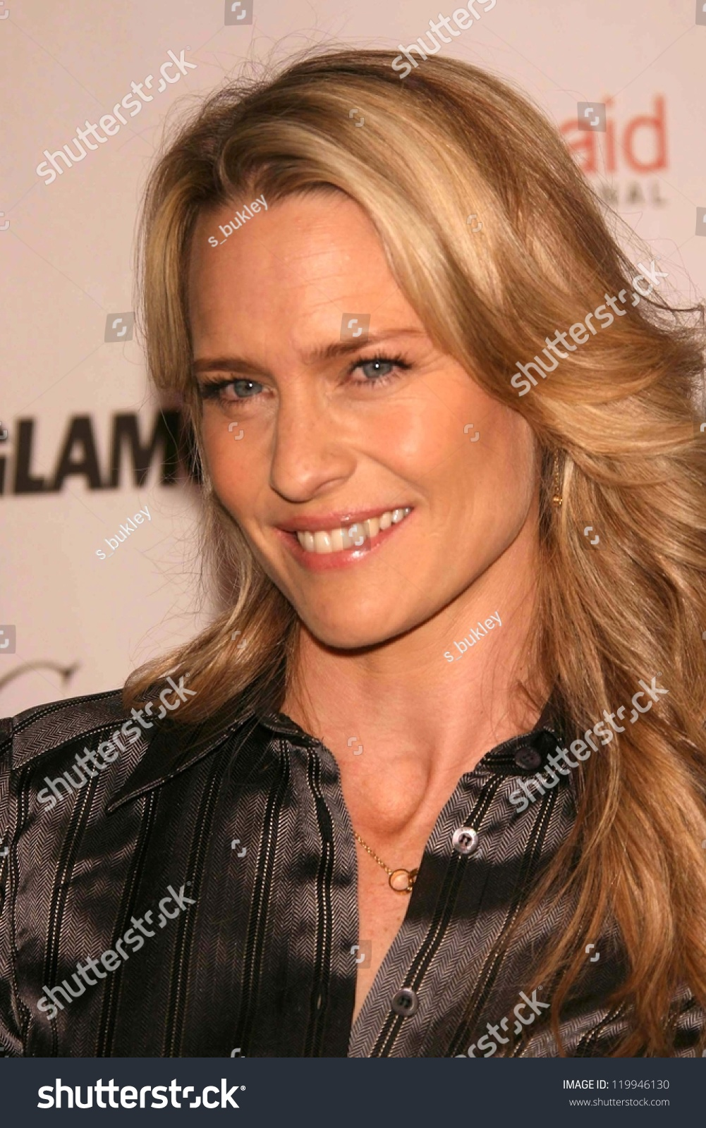 Robin Wright Penn At The Glamour Reel Moments Short Film Series