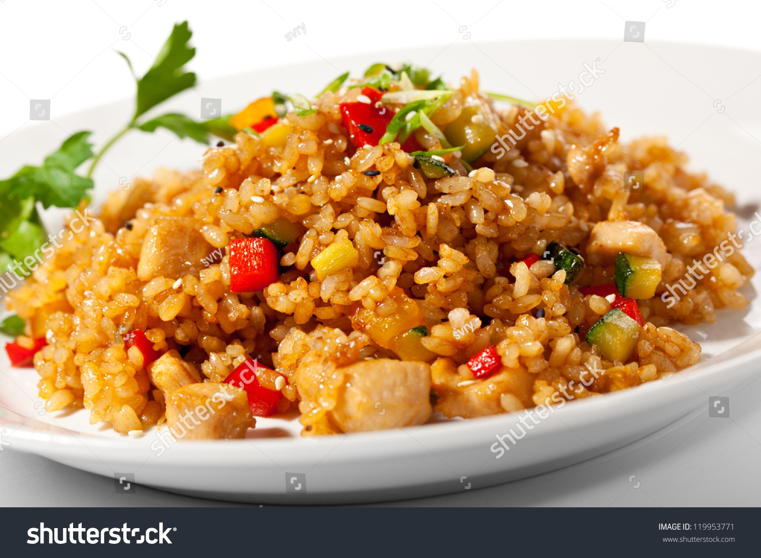 how to cook chinese fried rice with vegetables