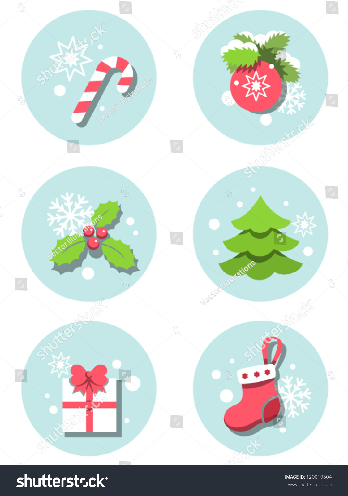 christmas illustrations useful set of xmas icons for web and christmas illustrations useful set of xmas icons for web and print design greetings invitations gifts wrapping paper etc cartoon images