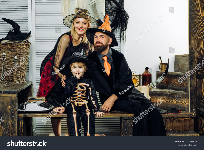 Best Ideas Halloween Background Decorated Halloween Stock Image