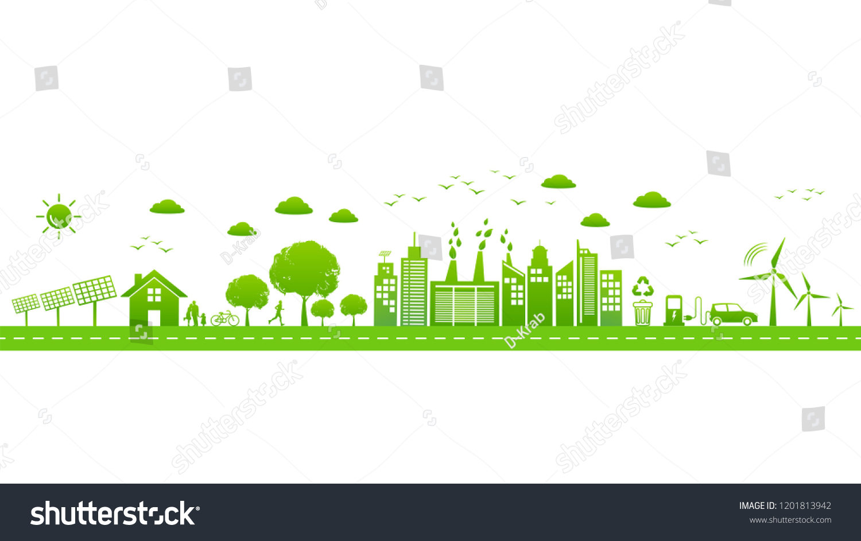 world environmental sustainable development ecology friendly stock