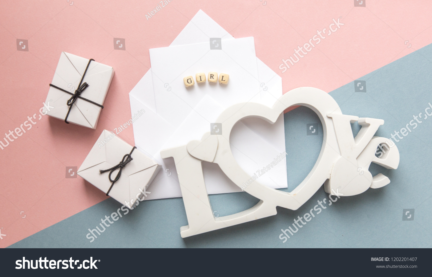 Baby Shower Party Definition Gender Little Stock Photo Edit Now