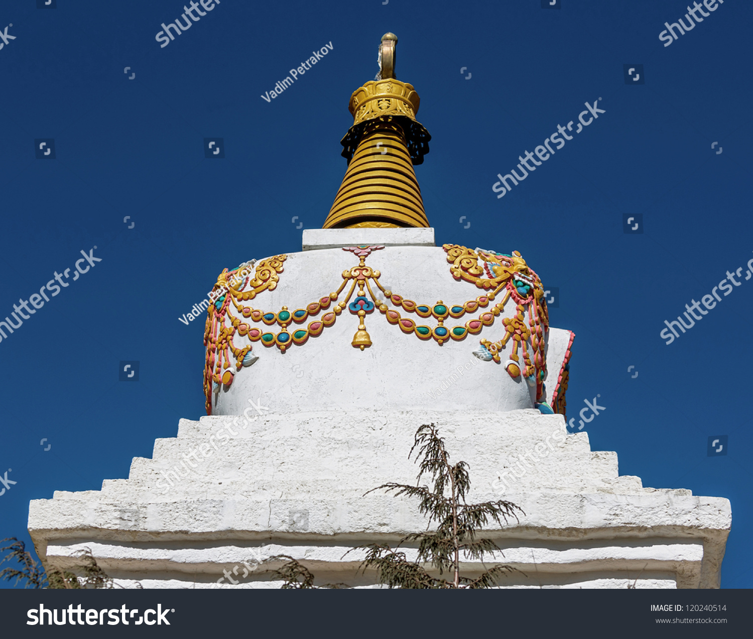 Fragment Of The Buddhist Stupa Along The Trail To Namche Bazar