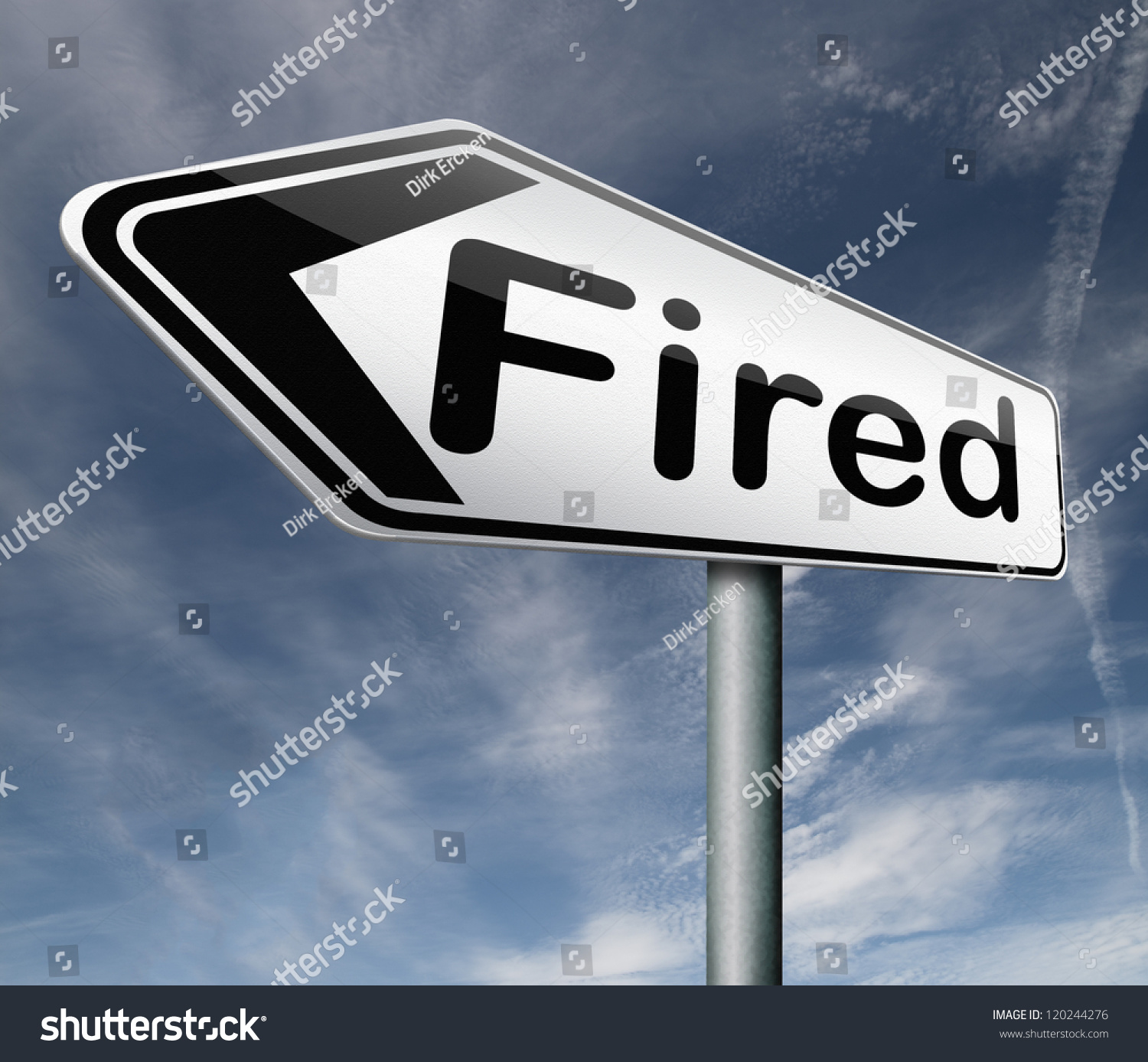 fired getting fired loose your job stock illustration  fired getting fired loose your job you re fired loss work jobless