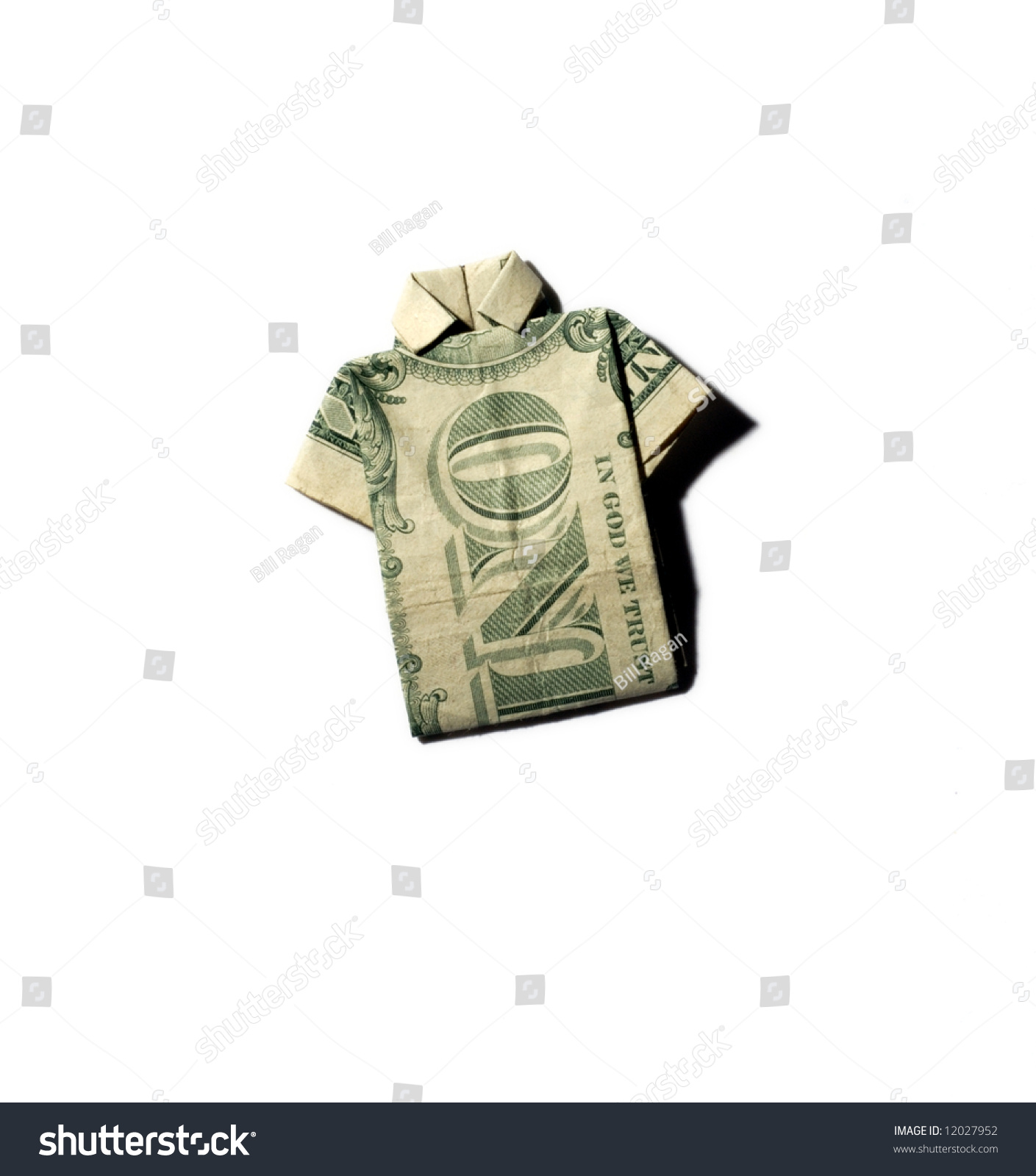 How to Make an Easy Origami Dollar Shirt | 1600x1409