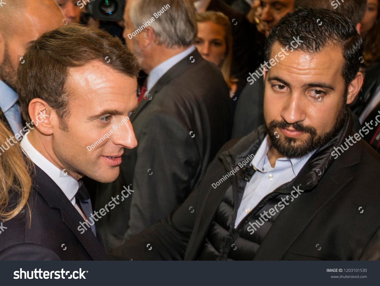 Emmanuel Macron L Alexandre Benalla R Celebrities