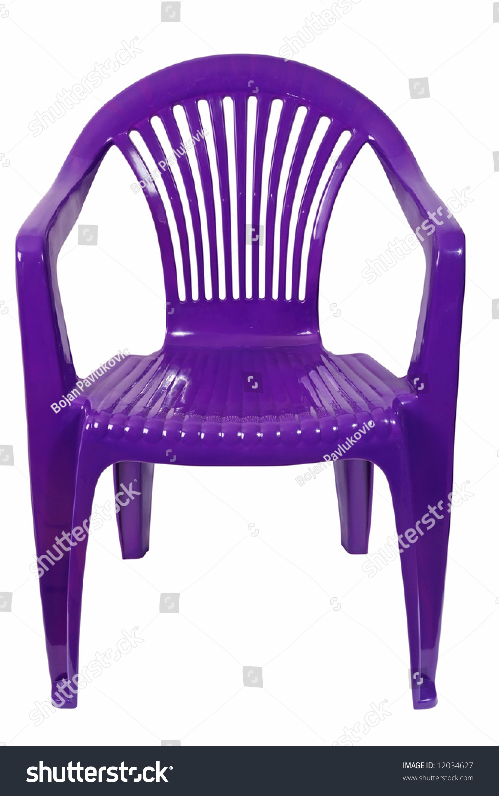 pink plastic chair clipping path - Plastic Chair