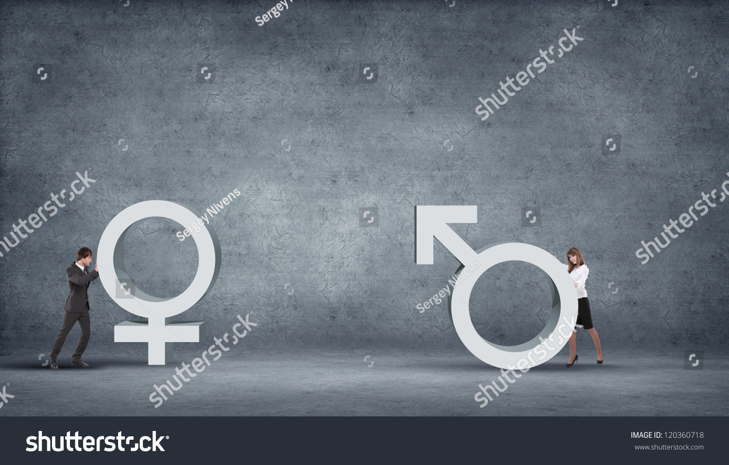 Illustration symbol love different genders symbols stock photo illustration with symbol of love and different genders symbols buycottarizona Images