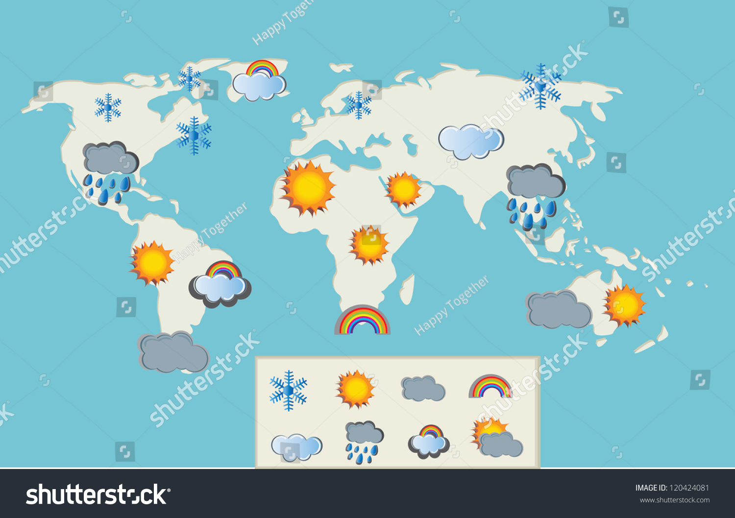 Weather Map Of The World Factsofbelgium