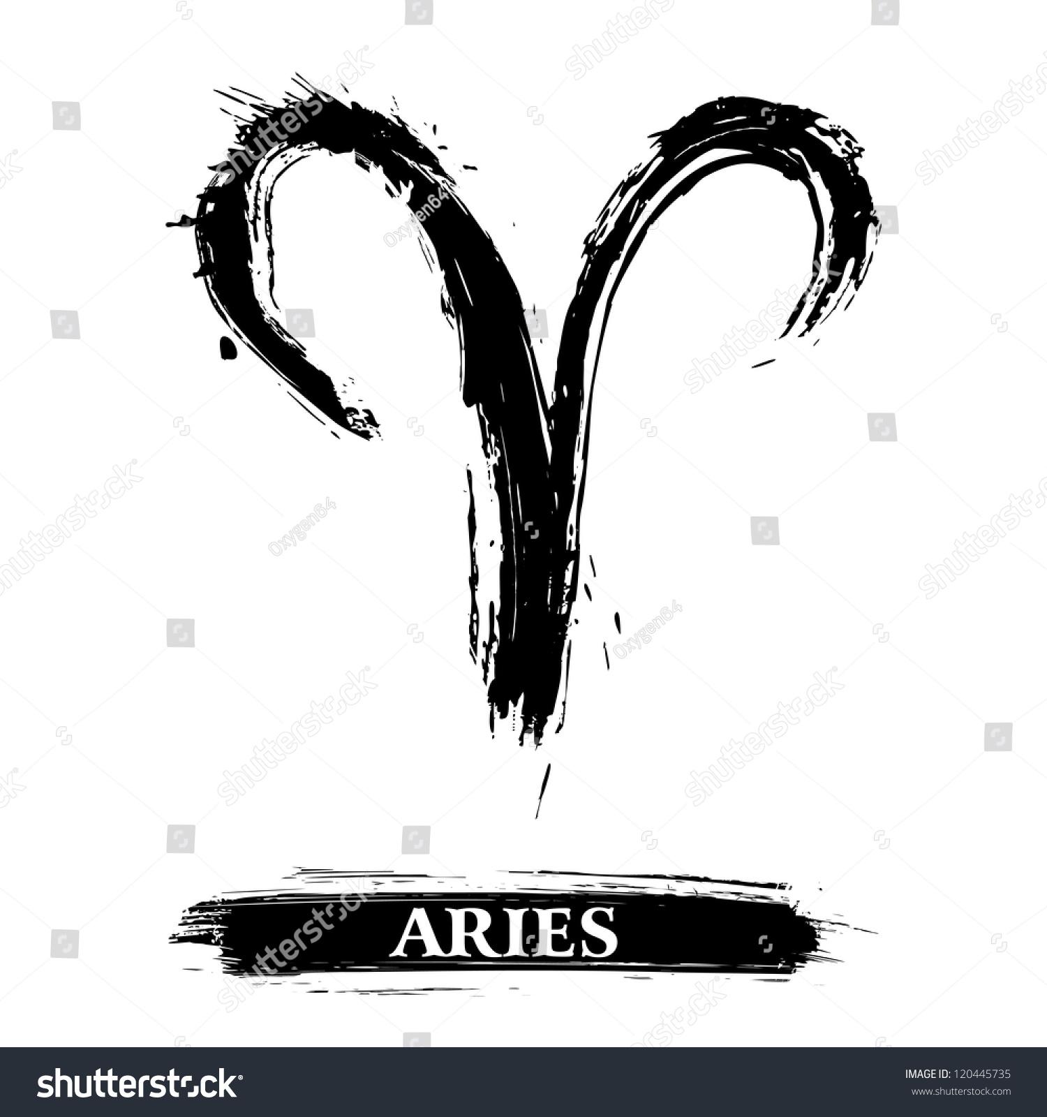 Aries symbol stock photo photo vector illustration 120445735 aries symbol publicscrutiny Image collections