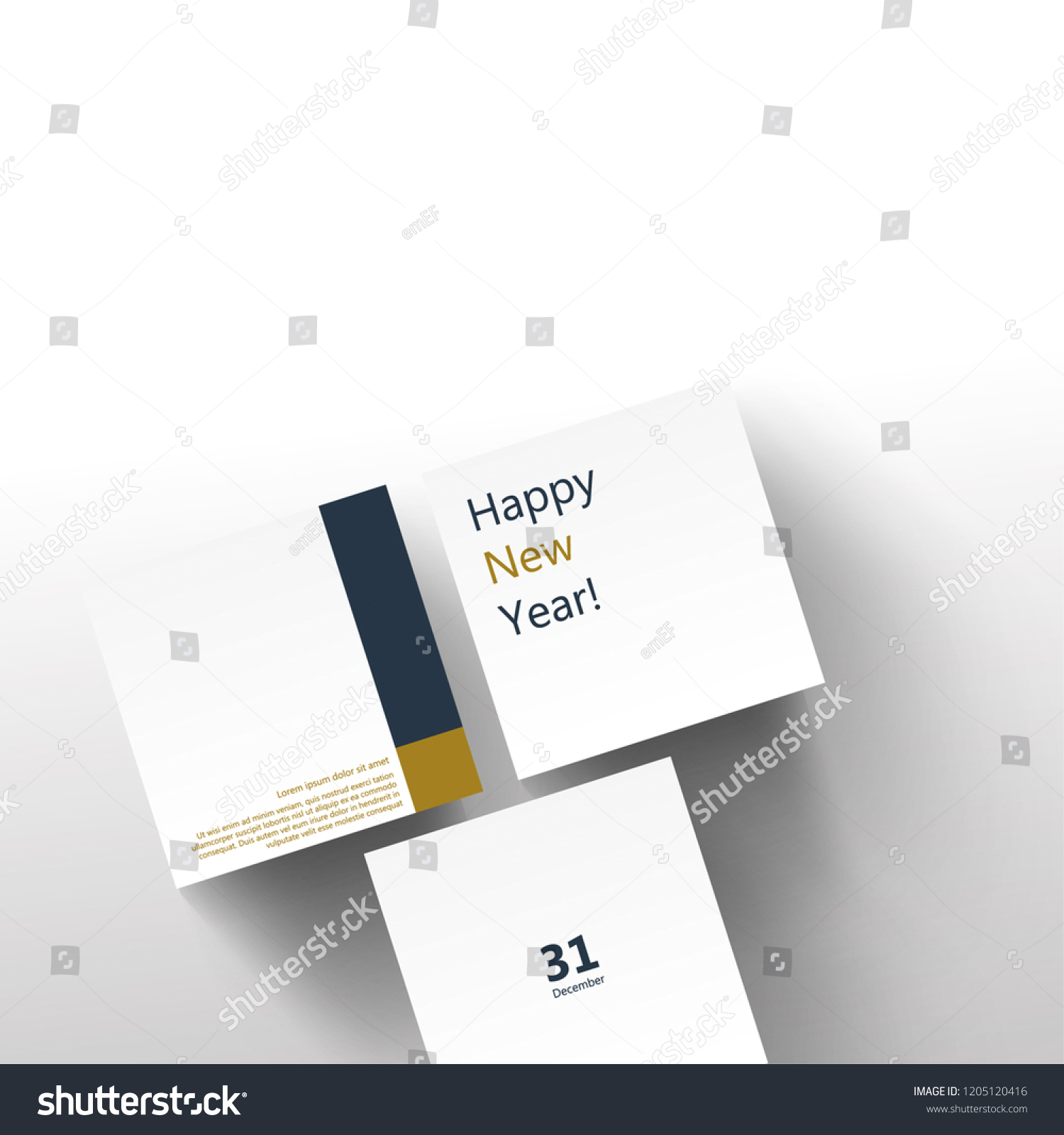 simple business new year greetings layoutdesign cover modern and abstract background stock
