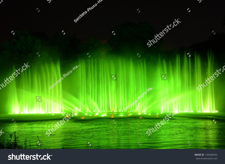 Wasserlichtspiele blomen anfahrt un planten Park Planten