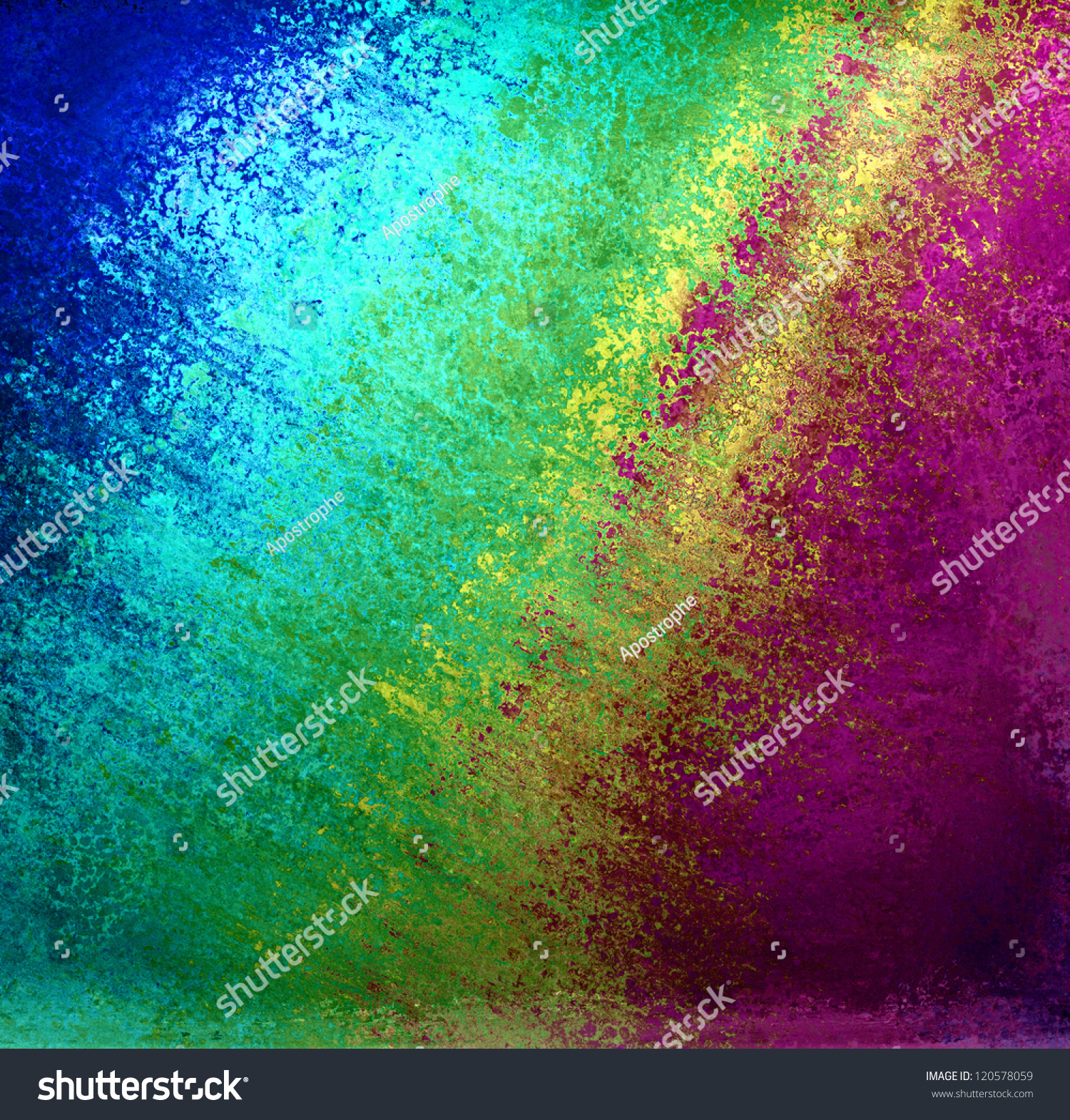 Abstract Colorful Background Rainbow Colors Pink Stock ...