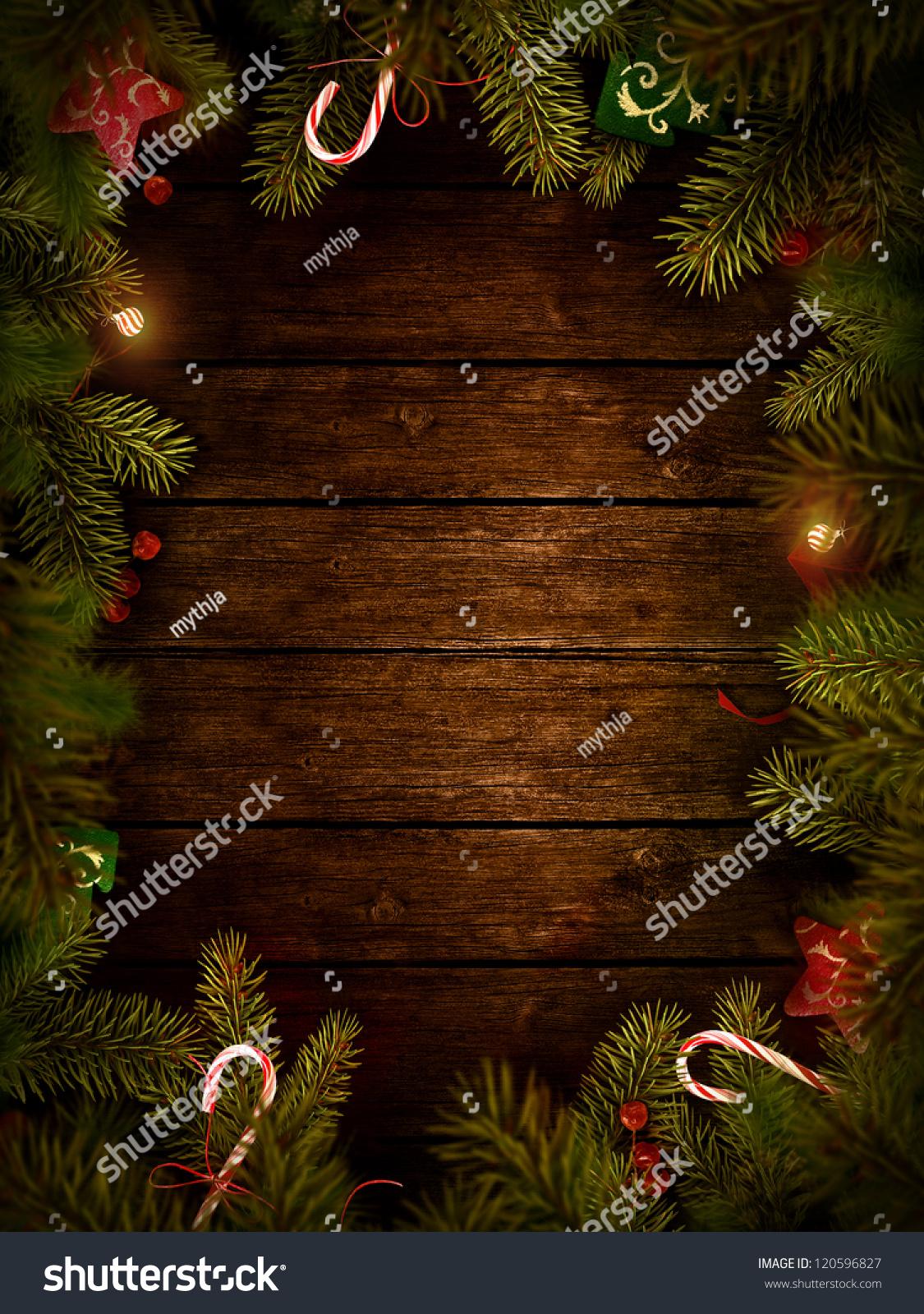 christmas design - merry christmas. xmas wreath card with with