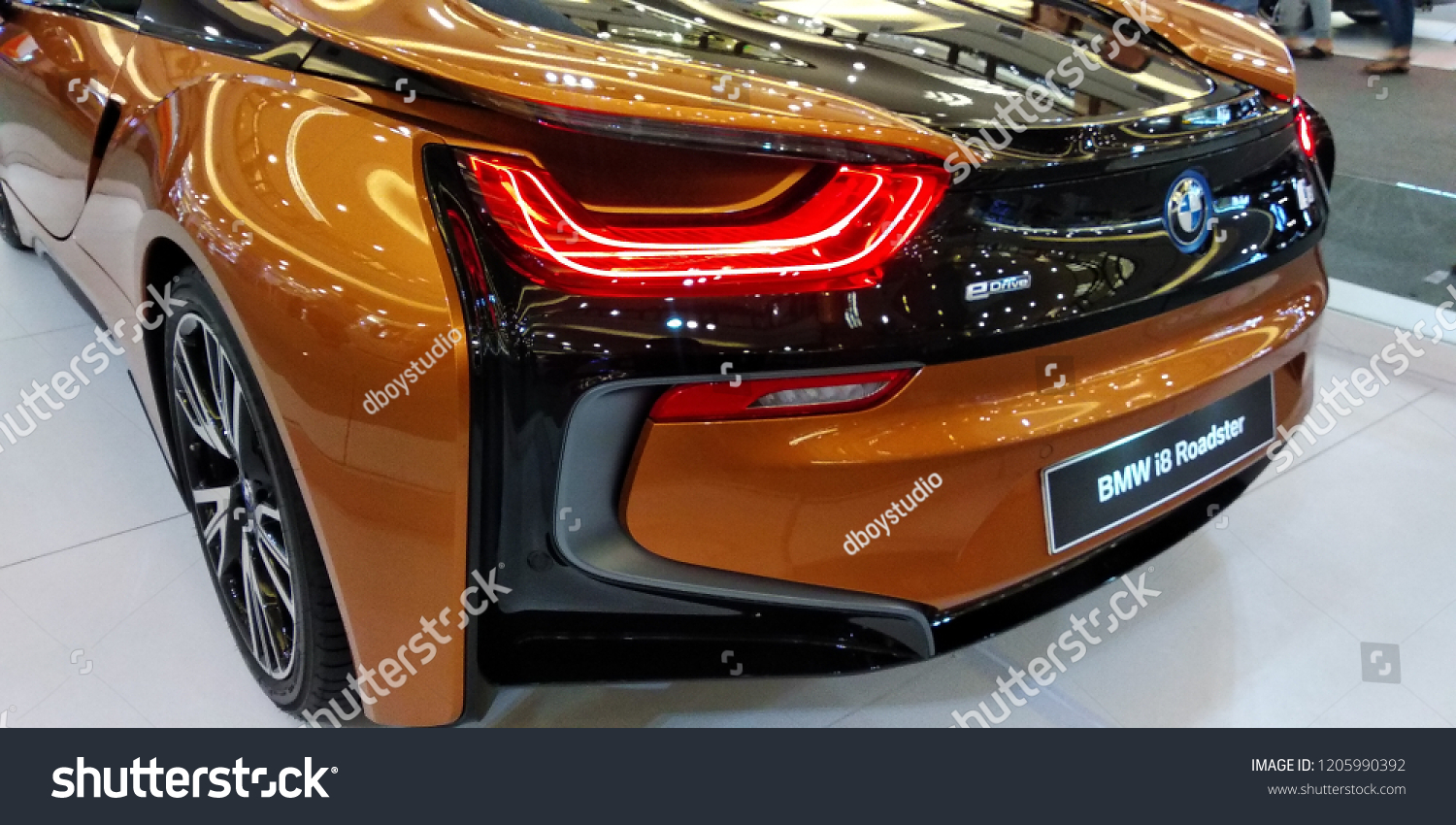 Malaysia Oktober 18 2018 Bmw I 8 Roadster Stock Photo Edit Now
