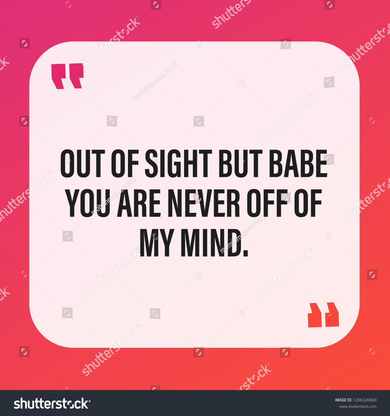 Cute Missing You Quotes Express Your Stockvector Rechtenvrij