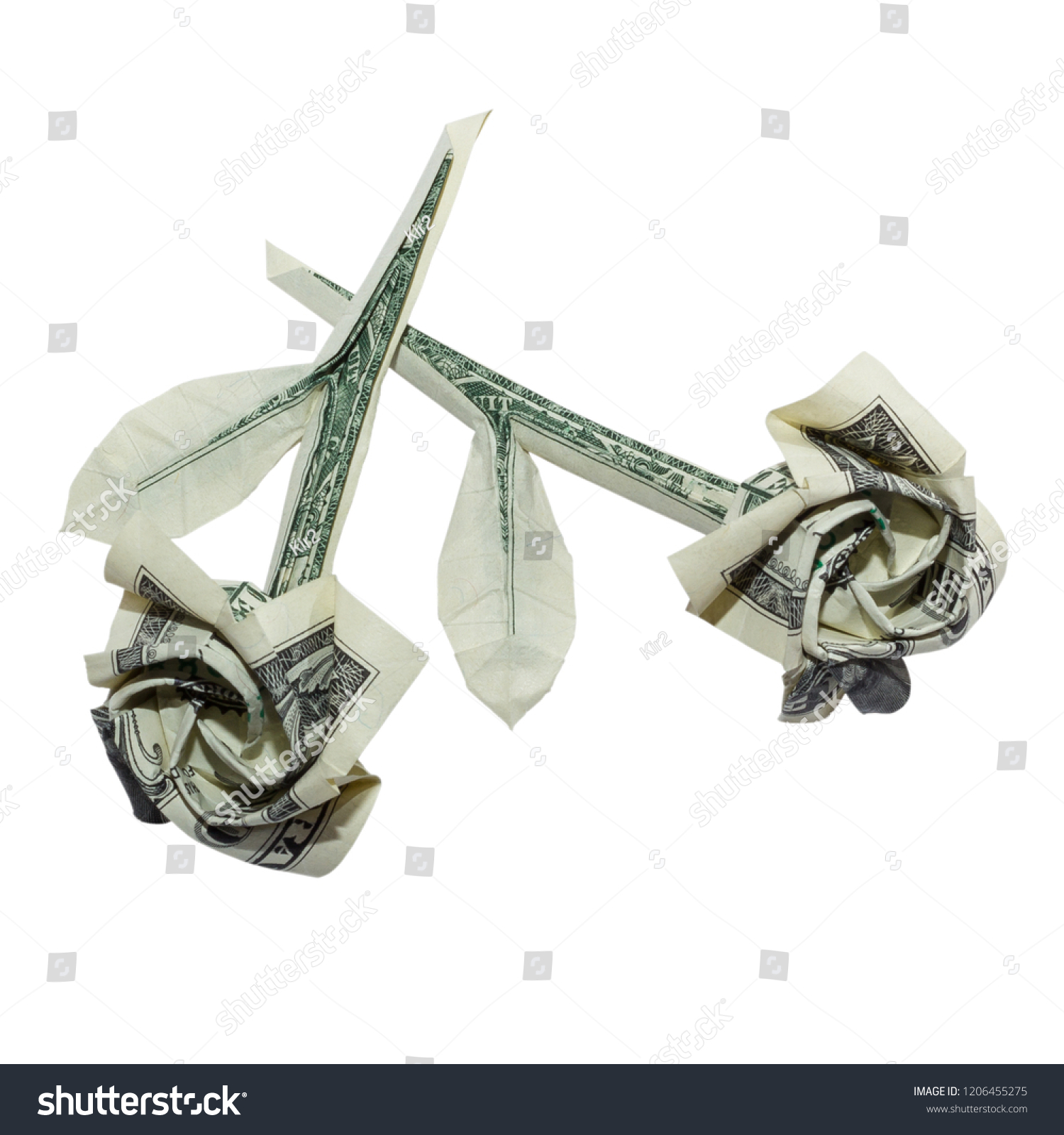 Money Origami Rose | LoveToKnow | 1600x1500