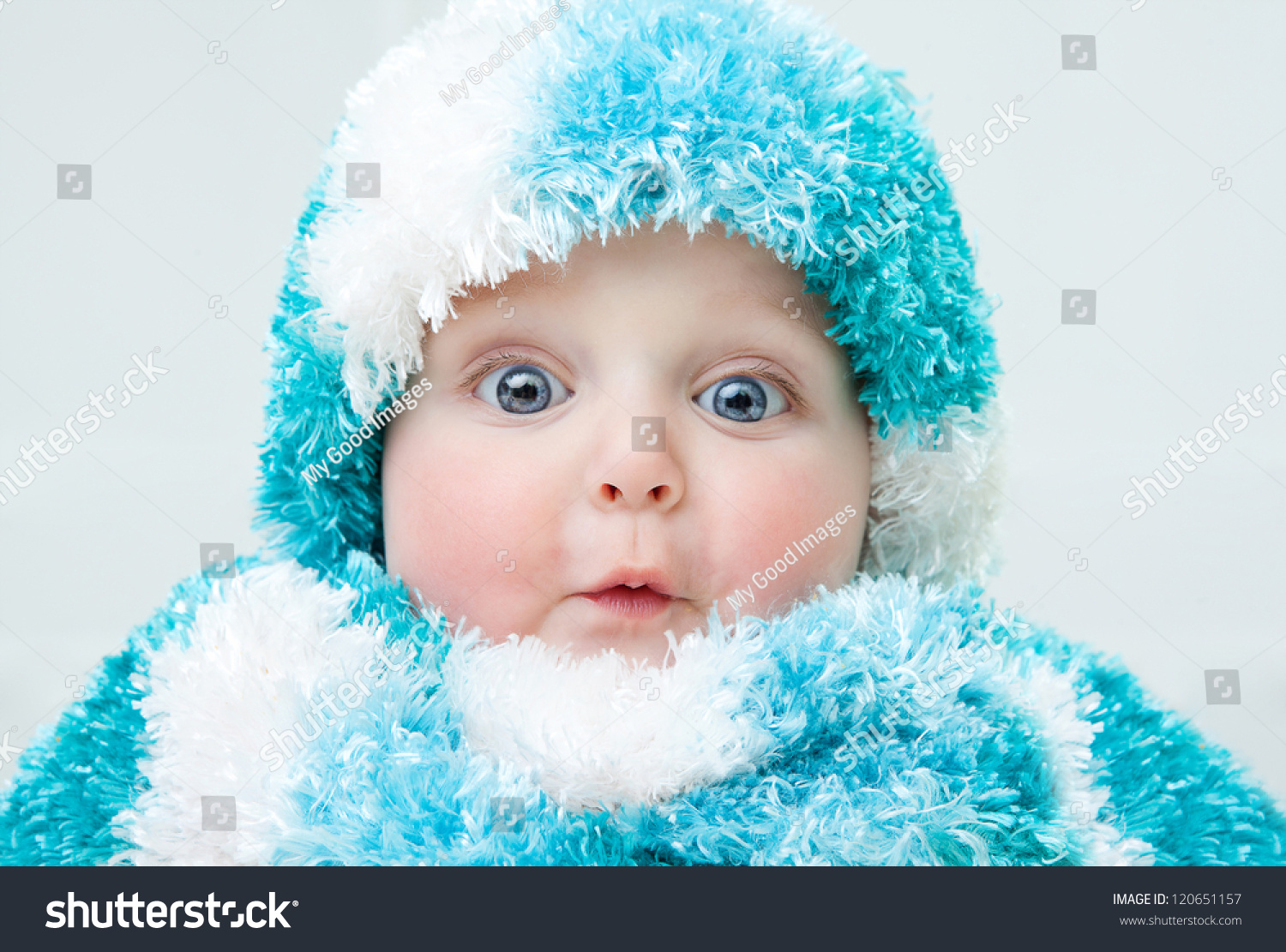 cute baby winter background stock photo (download now) 120651157
