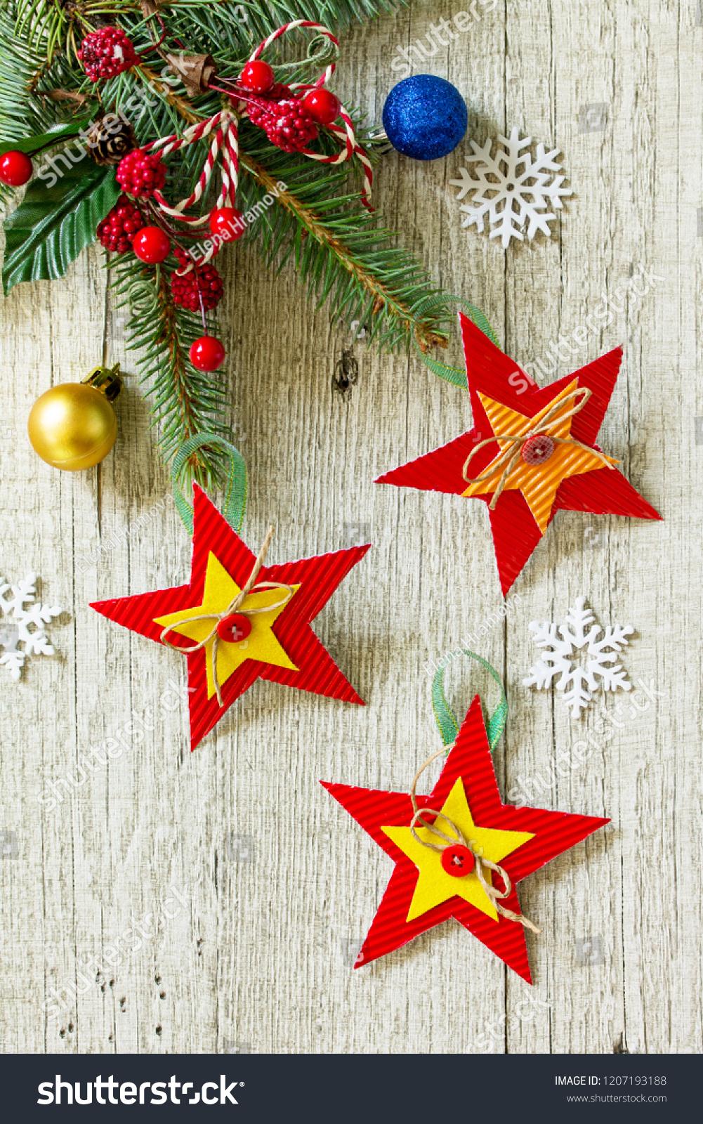 Christmas Gift Christmas Decorations Handmade Paper Stock