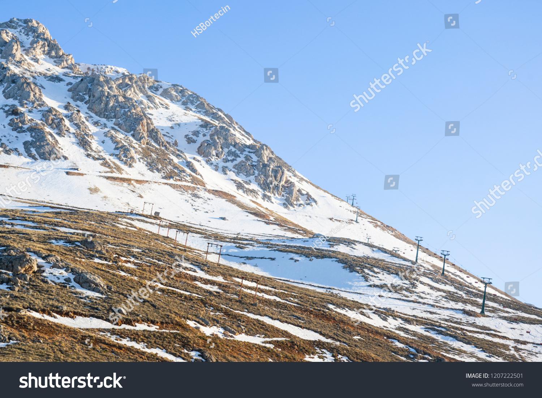 saklikent ski centre founded on northern stock photo (edit now