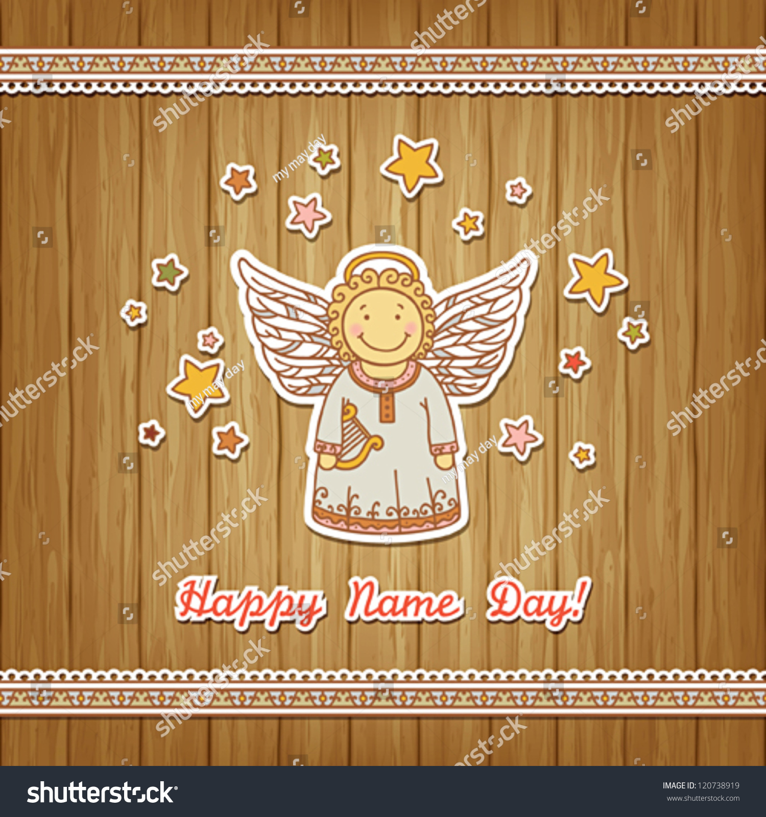Name Day - Angel Day. Congratulations on Angel Day 2