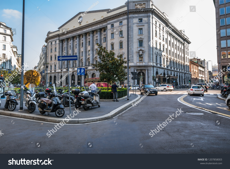 Central Square Banca Popolare Di Milano Stock Photo Edit Now