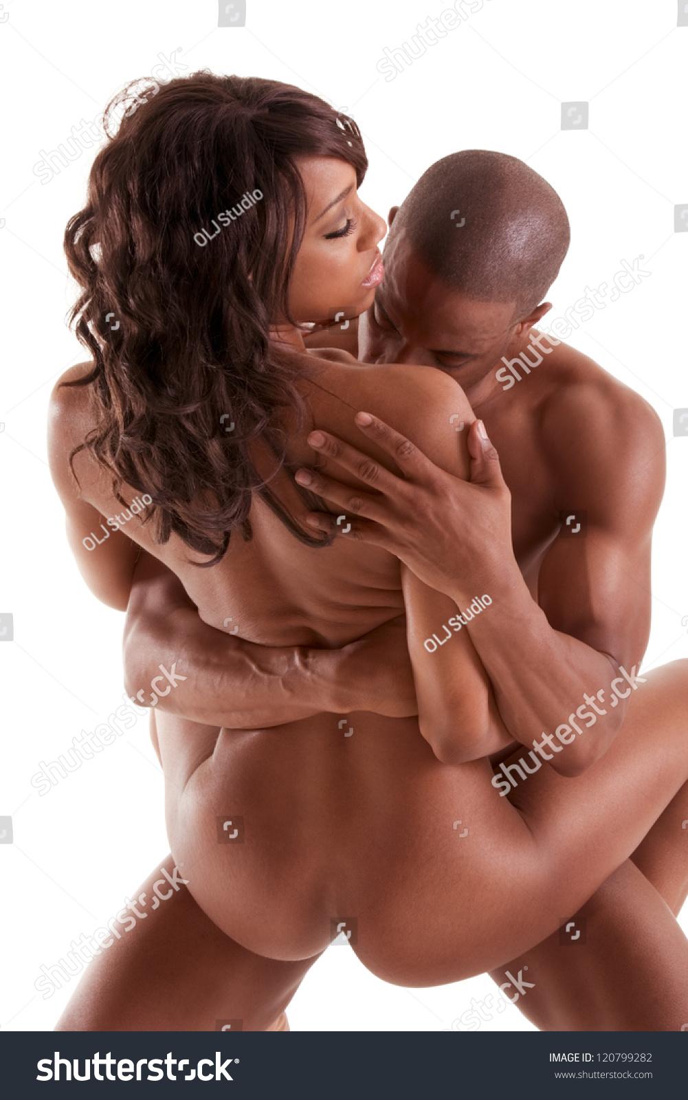 Ebony couples making love