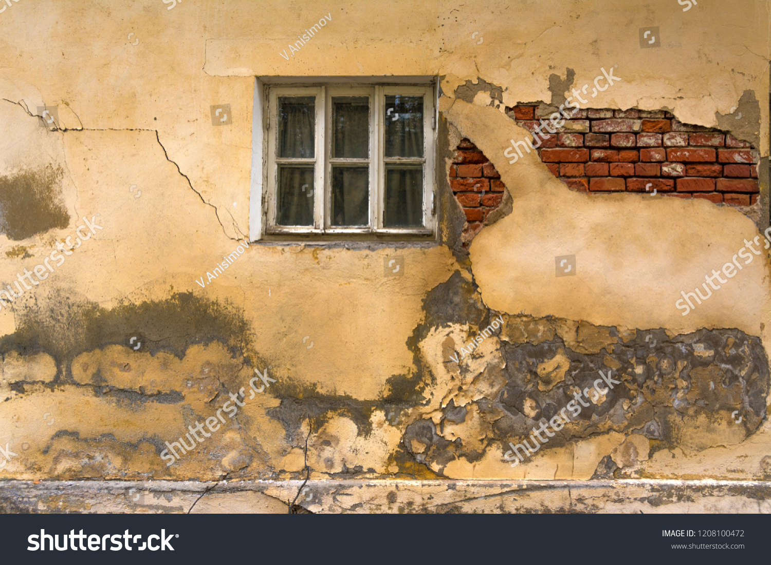 Outstanding Wall Old House Window Wall Need Stock Photo Edit Now Download Free Architecture Designs Embacsunscenecom