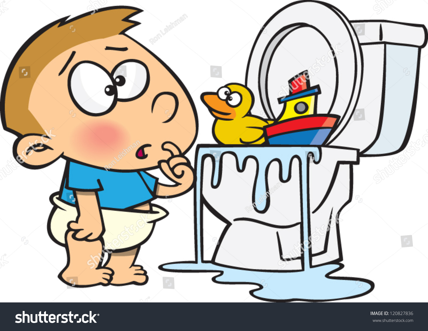 clipart overflowing toilet - photo #16