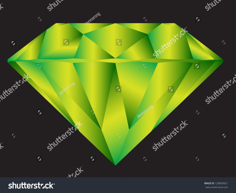 Diamond Anatomy Pattern Standard Cut Modern Stock Vector 120859921 ...